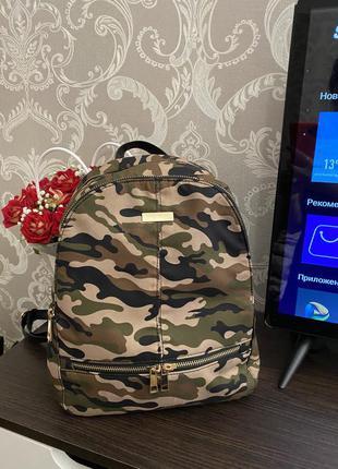 Рюкзак женский камуфляж