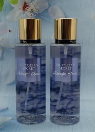 Парфюмированный мист для тела и волос midnight bloom victoria's secret. оригинал