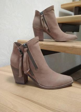 Нубуковые ботинки dolce vita. оригинал
