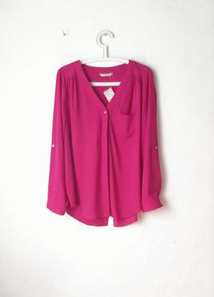 Шифоновая рубашка блуза