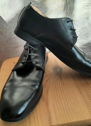 Мужские кожаные туфли peter werth размер 44-45.
