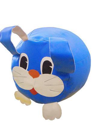 Детское кресло-мешок пуф заяц