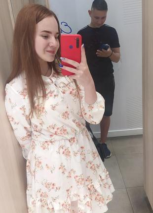 Сукня літня з принтом