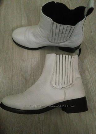 Ботинки кожа asos 36р