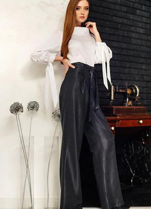 Брюки палаццо штаны женские b.raise р-р 48 классика