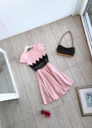 Платье quiz с кружевом в стиле барокко сукня