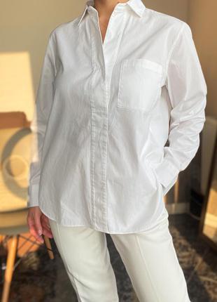 Белая рубашка massimo dutti оригинал