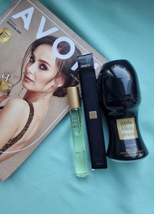 Новый парфюмерный набор little black dress маленькое черное платье парфимированная вода шариковый дезодорант