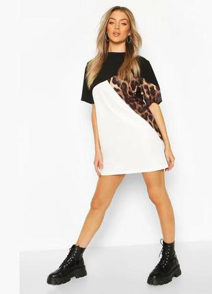 Платье-футболка boohoo сукня футболка