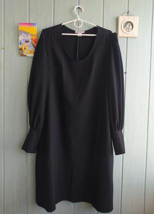Стильное и красивое платье большого размера плотная ткань