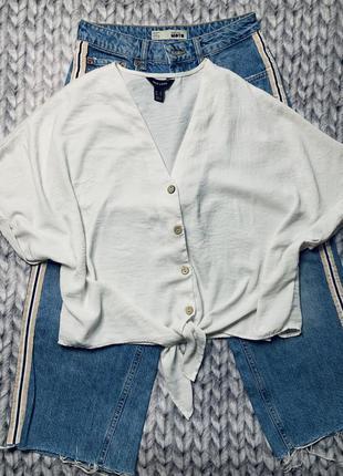 Рубашка блуза сорочка new look