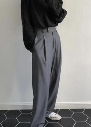 Стильные актуальные брюки h&m