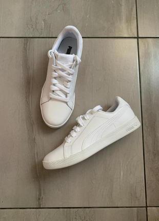 Новые кожаные кеды/ кроссовки от puma uk 4 us 6,5 eur 37