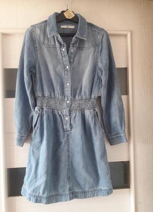 Marks&spencer платье джынсовое девочке