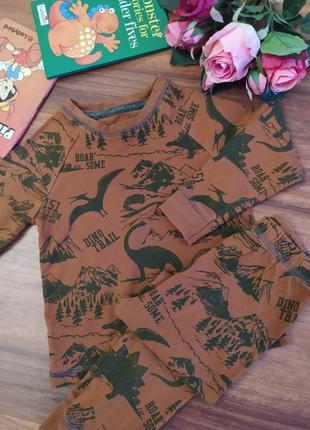 Классный домашний комплект,пижама tu на 2-3 года