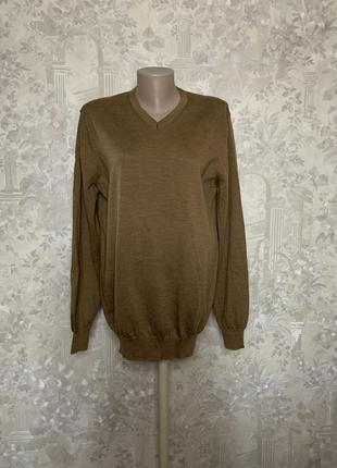 Шерстяной джемпер, пуловер jasper contan