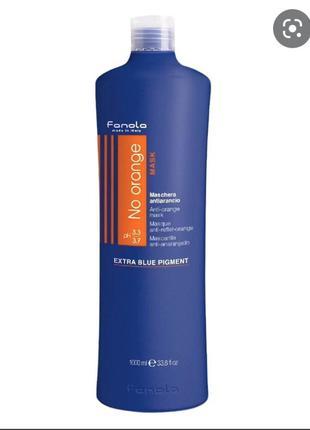 Маска для волос антиоранж fanola