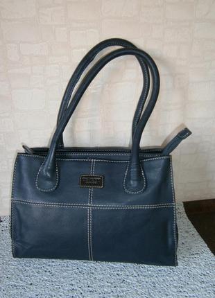 Красивая, повседневная сумка из натуральной кожи. osprey london