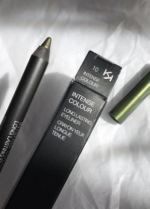 Карандаш для глаз kiko milano intense colour оттенок 10