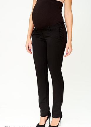 Чёрные  штаны штани для беременных брюки