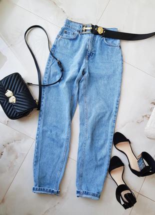 Трендовые джинсы мом, слоучи, бананы с высокой посадкой от pull&bear