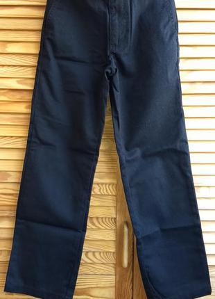 Котоновые брюки gymboree школа размер 7 (130 см) хлопок