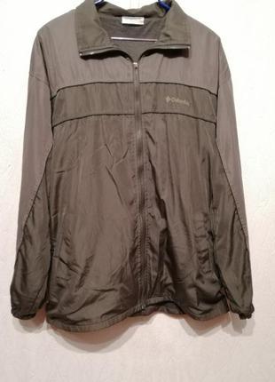 Лёгкая куртка ветровка спортивная