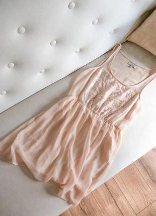 Шикарне шифонове плаття