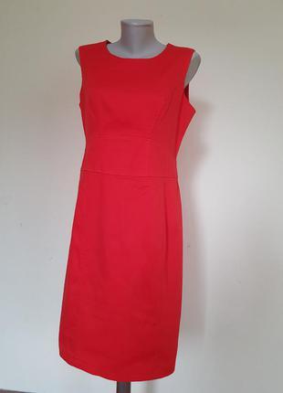 Красивое базовое платье футляр фактурная ткань marina kaneva