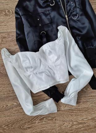 Блуза бюстье
