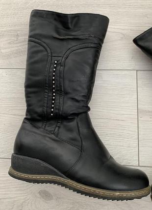 Зимові ботинки, зимові сапожки, сапог, зимняя обувь, теплі сапожки на зиму.