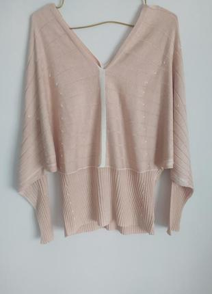 Zucchero шелковая кофта блузка свитер.