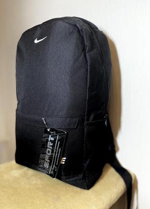 Черный рюкзак, портфель, городской спортивный рюкзак