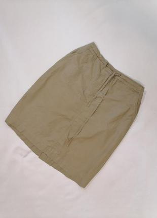 Котоновая юбка большой размер миди