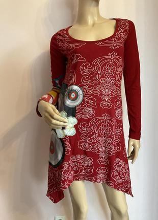 Фирменное платье-туника/s/brend desigual