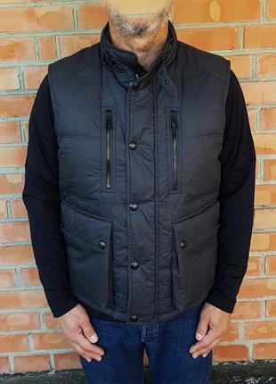Belstaff жилет пуховик куртка made in italy оригинал (l - 52)