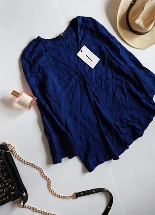 Jasper conran віскозна ультрамаринова електрик блуза