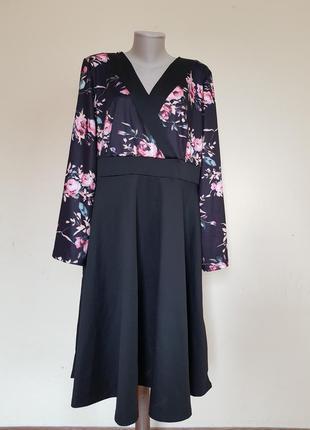 Красивое трикотажное платье shein
