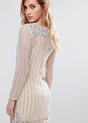 Супер нарядное, праздничное платье new look