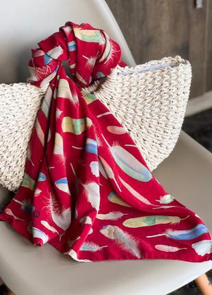Шелковый шарф fabric frontline zurich