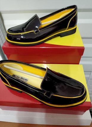 Туфли макасины слипоны