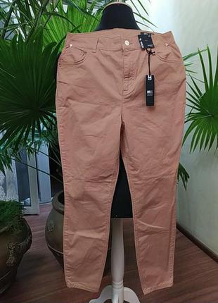 Новые, с бирками, рыжие скинни, зауженные штаны, 14 размер