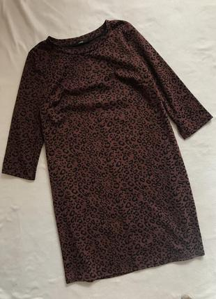 Платье с принтом(10р)м