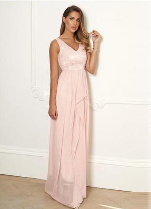 Платье sistaglam ra-8099 xl (73246xl) розовый