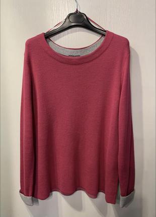 Женская розовая кофта, xl