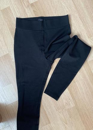 Стрейч вискозные трикотажные брюки44-46