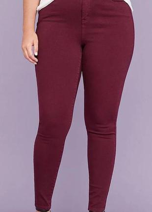 Мегаклассные стрейчевые джинсы скини на пышные формы  denim...