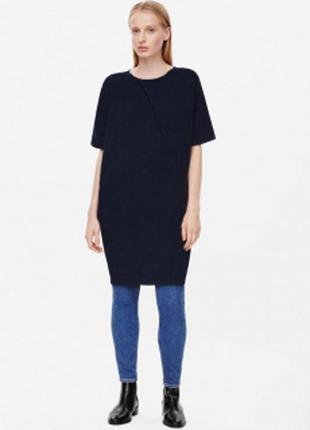 Базовое платье-свитер cos из последних коллекций вискоза