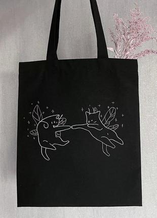 Эко сумка , эко сумка с рисунком, шоппер, шоппер с рисунком, шопер, шопер с рисунком