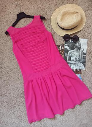 Яркое платье с воланом внизу/плаття/сукня